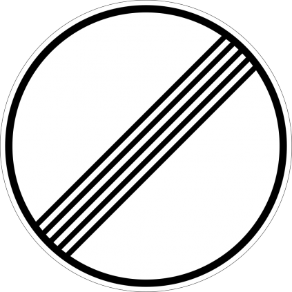 End of all prohibitions
