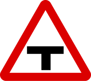 T-Junction Sign