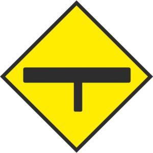 T-Junction Sign